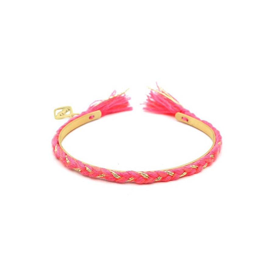 FRIENDCHIC - HOT PINK WITH GOLD
