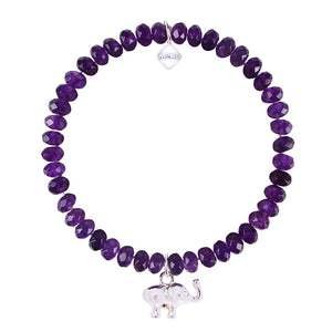 GOOD LUCK TRUNK - PURPLE WITH SILVER