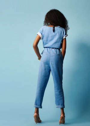 JUDAH - DENIM JUMPSUIT