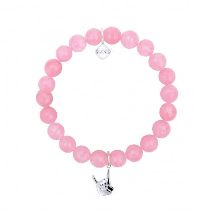 ROCK ON - PINK - WHITE GOLD