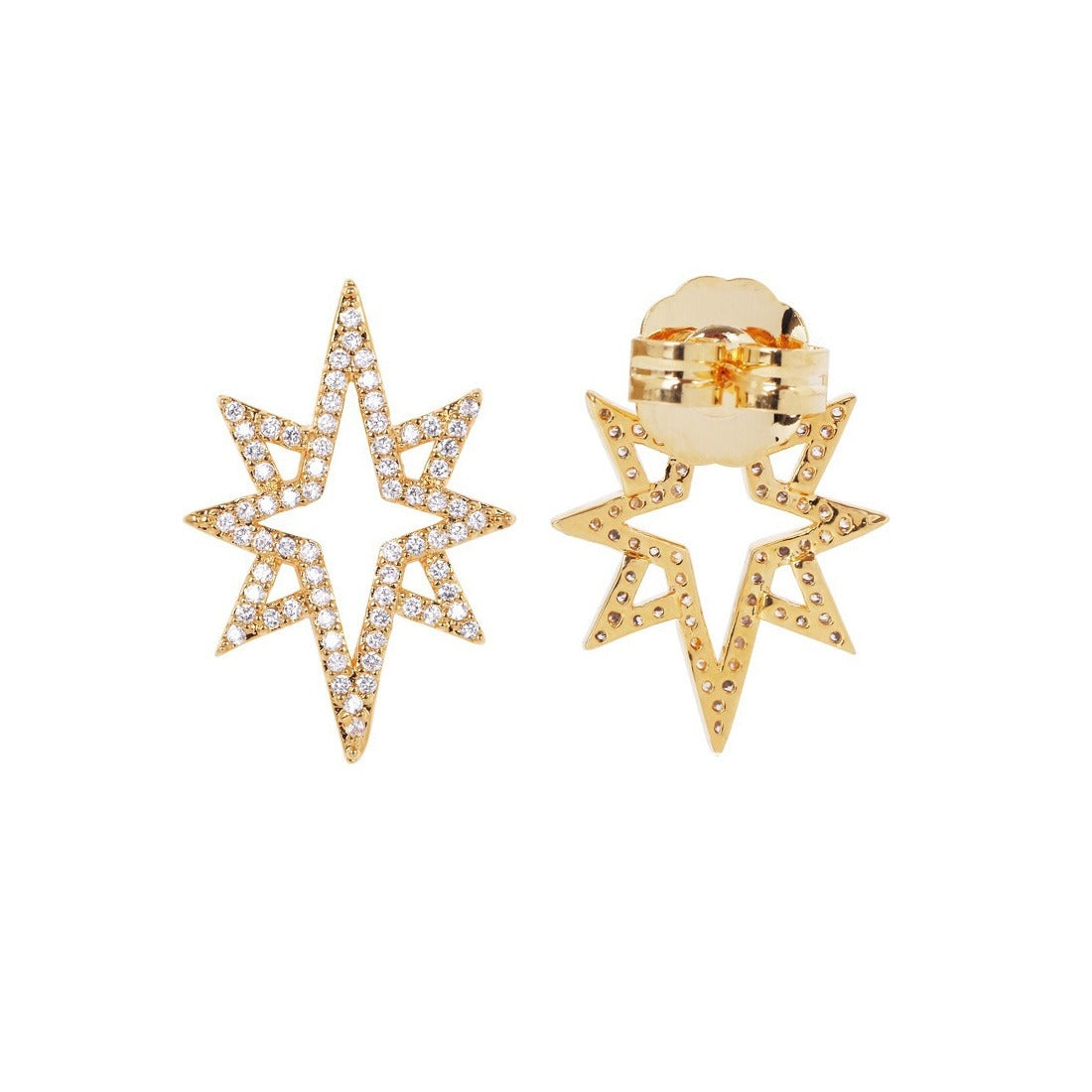 STARBURST EARRINGS - GOLD