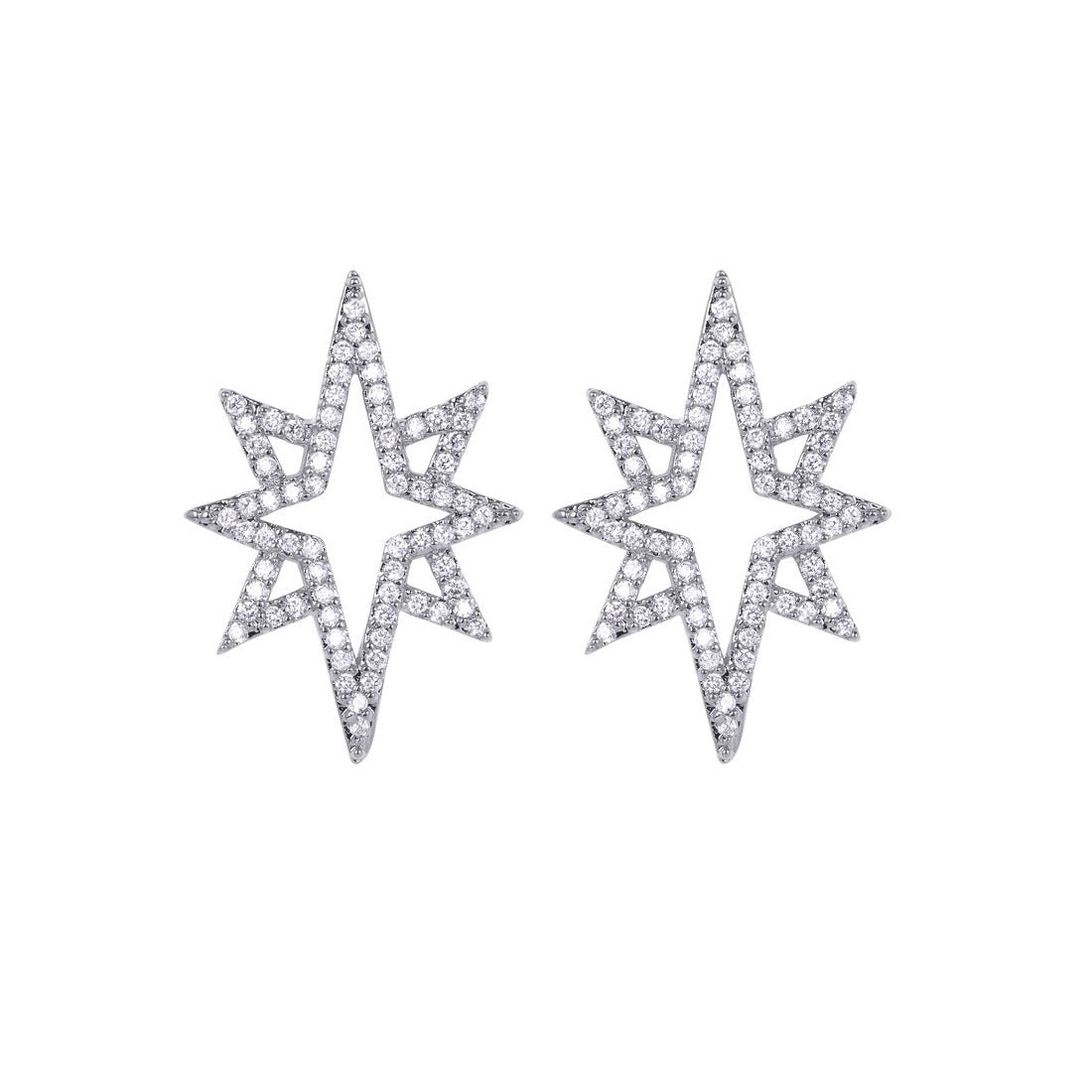 STARBURST EARRINGS - SILVER