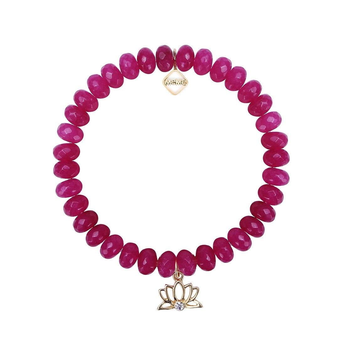 YOGI CHIC - FUCHSIA WITH GOLD