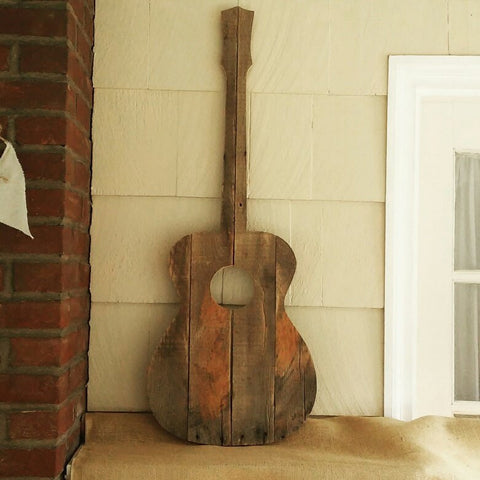 Reclaimed Wood Guitar