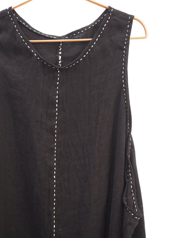 Pinafore - Black