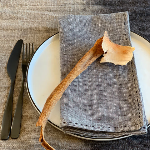 Napkins: Two - tone Linen