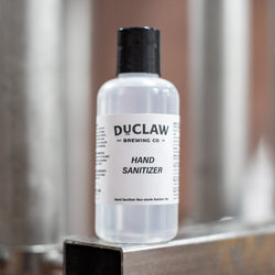 4 oz DuClaw Hand Sanitizer- Plastic Squeeze Bottle