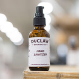2 oz DuClaw Hand Sanitizer- Mini Glass Pump