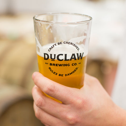 DuClaw Pint Glass