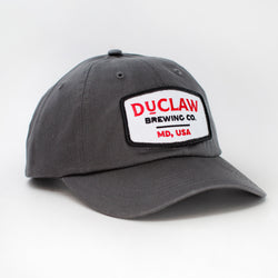 DuClaw Brewery Hat Charcoal