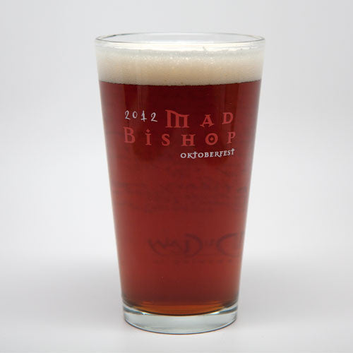 Mad Bishop 2012 Pint Glass