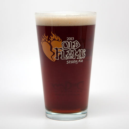 Old Flame 2013 Pint Glass