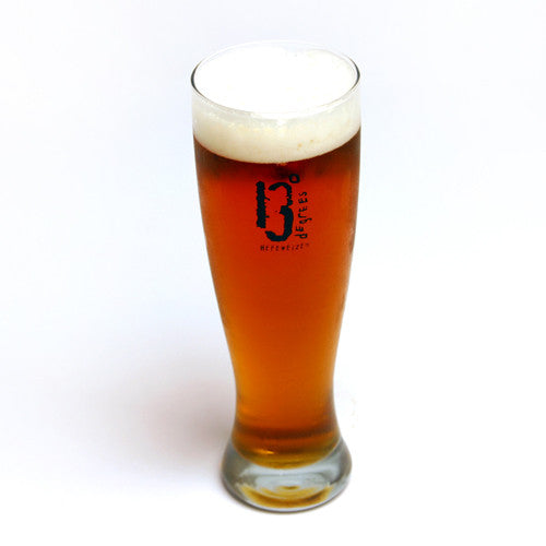 13 Degrees Pilsner Glass