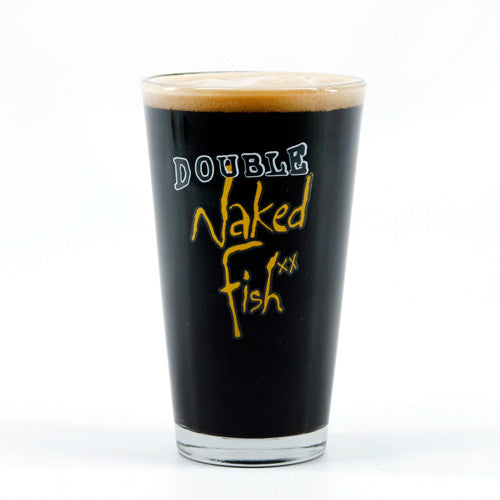 Double Naked Fish Pint Glass