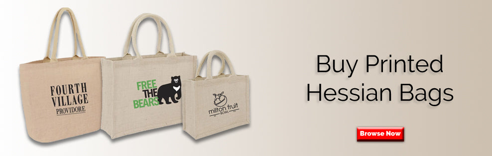 Buy Printed Hessian Bags
