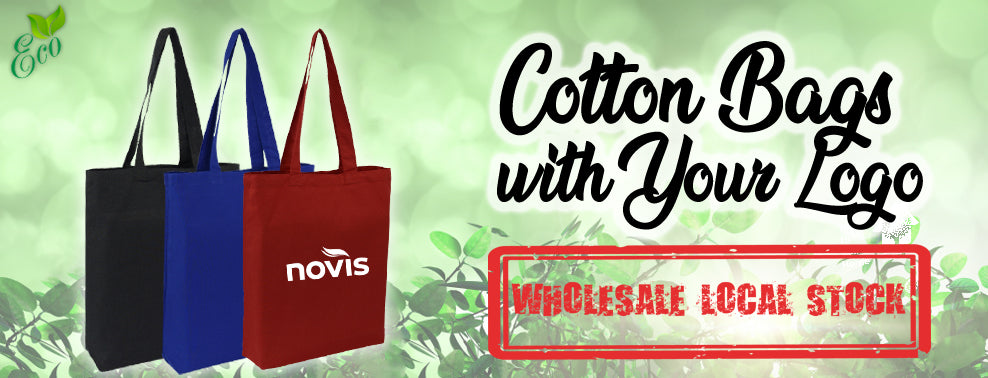 Custom Cotton Bags Printed Logo