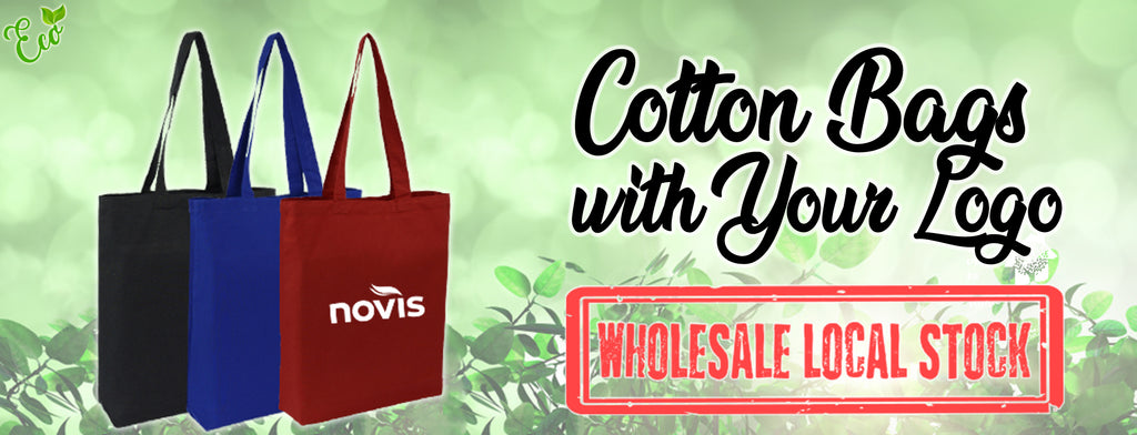 Plain Cotton Tote Bags