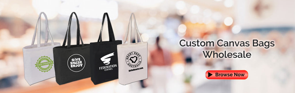 Custom Canvas Bags Wholesale Australia