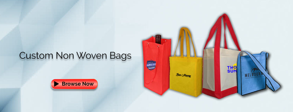 Custom Non Woven Bags Wholesale