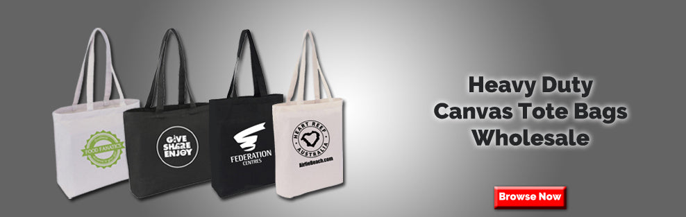 Heavy Duty Canvas Tote Bags Wholesale
