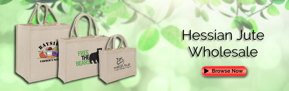 Hessian Jute Bags Wholesale