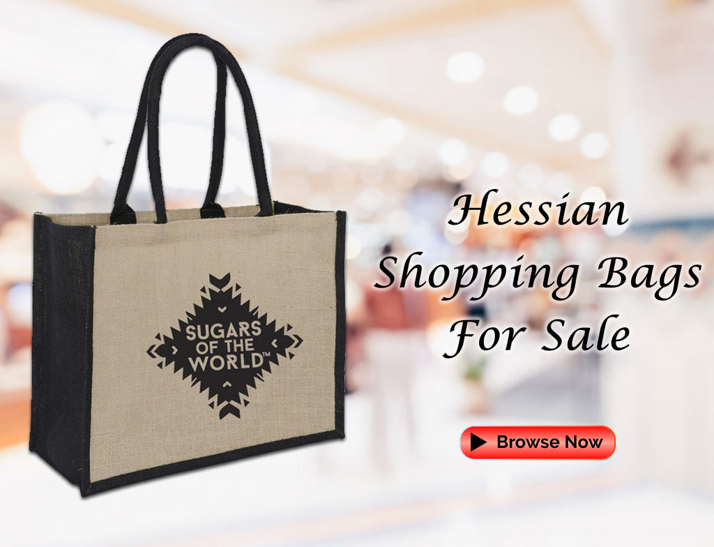 Hessian Shopping Bags For Sale