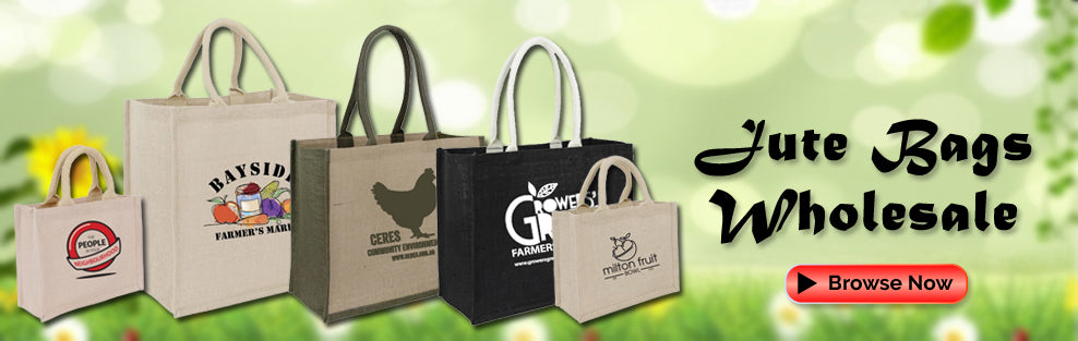 Jute Grocery Bags Wholesale