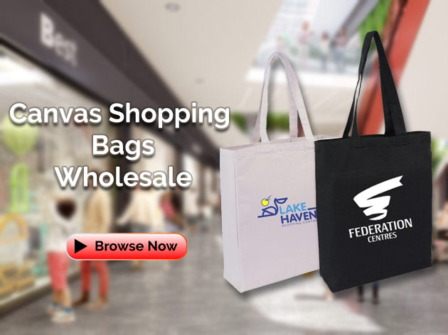 Canvas Shopping Bags Wholesale Australia