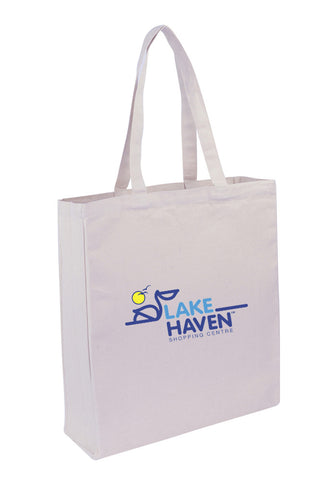 Canvas Tote With Full Gusset -