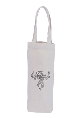 Canvas Wine Bag - 1 Bottle -