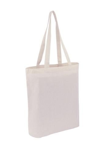 Wholesale Plain Heavy Cotton - Canvas Bag Tote With Bottom Only