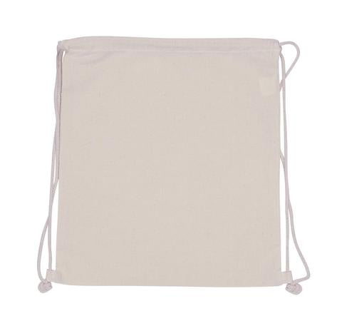 Cotton Bag -  Backpack (Drawstring) Plain Bag