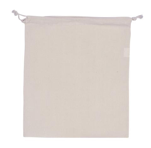 Cotton Large Pouch Plain