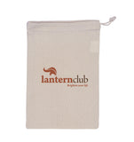 cotton drawstring pouch Small
