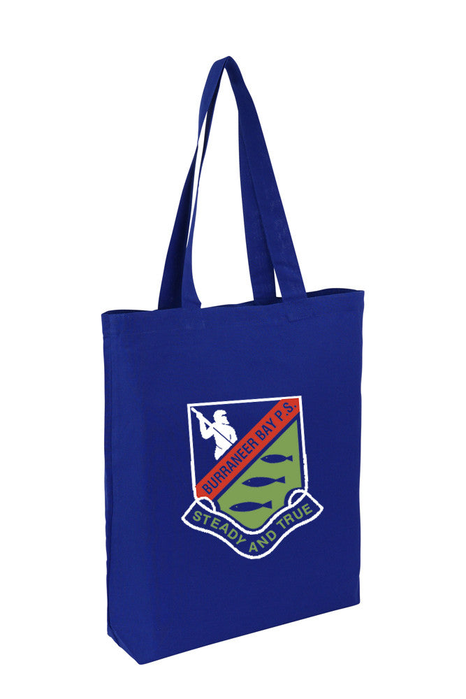 Cotton Tote With Base Gusset Only - Royal Blue - CTN-TT-BL-BTM