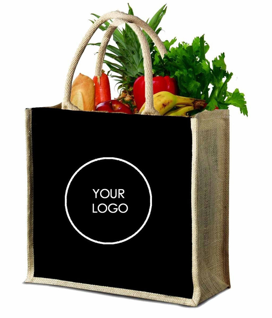 Jute Grocery Bag Medium J15