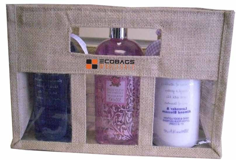 Eco Friendly Jute Cosmetic Bag J25