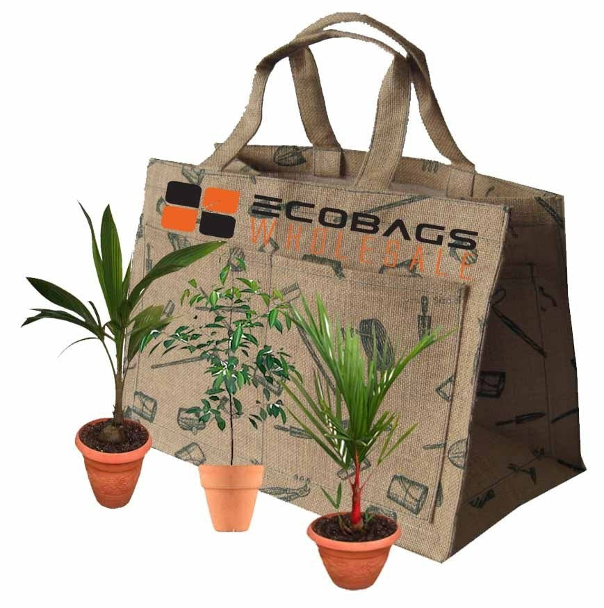 Eco Friendly Natural Jute Garden Bag J35