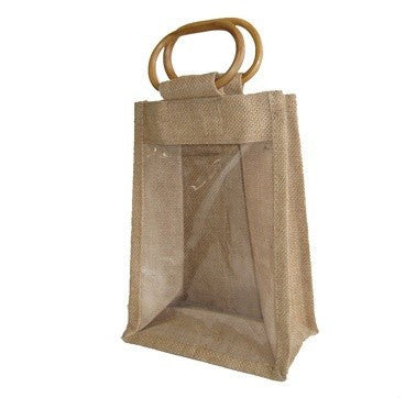 Jute Bottle & Jar Bag  JB7205