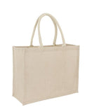 Jute + Cotton Premium Landscape Bag Plain