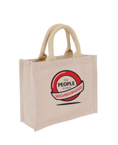 Jute + Cotton Premium Small Bag