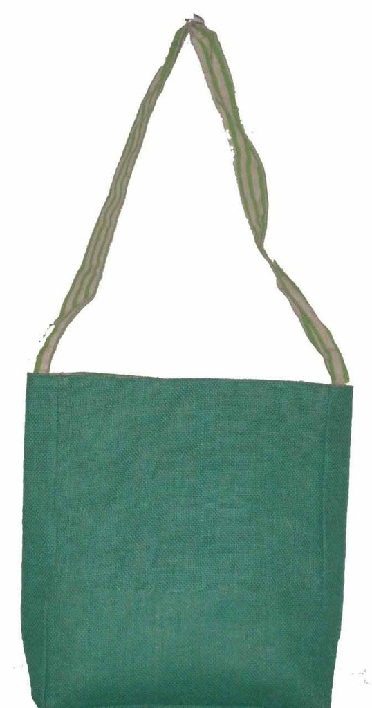 Jute Messenger Bag Standard Portrait JM102