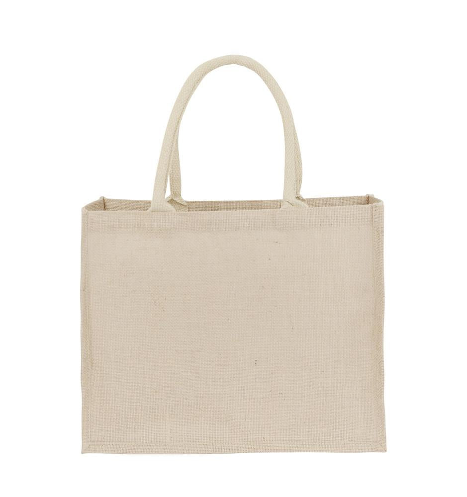 Jute hessian bags for grocery shopping