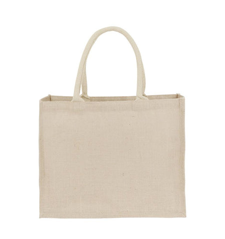 Promotional Jute Hessian Grocery Shopping Bag