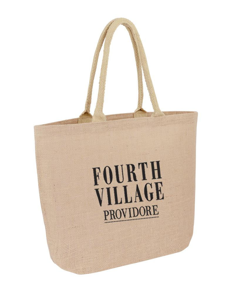 Jute Promotional Hessian Market Bag
