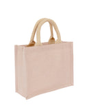Plain Small Jute Hessian Bag Laminated Wholesale