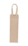 Jute Hessian Wine Bag X 1 Bottle