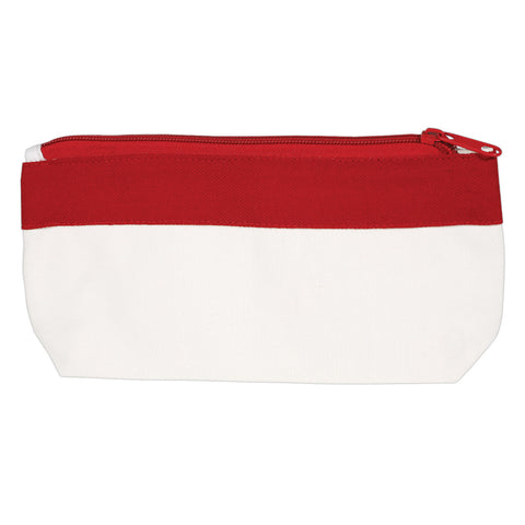 Canvas Pencil Case with Zipper - LL4628