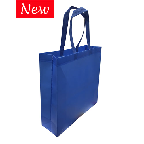 non woven laminated  bags with large gusset