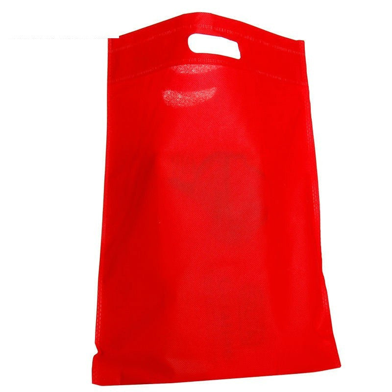 Non Woven PP D Handle Fabric Bag with Logo  NW224